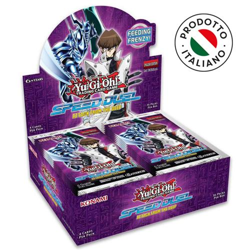 BOX YU-GI-OH! - SPEED DUEL BOOSTER - CREATURE DEGLI ABISSI (36 BUSTE) ITA