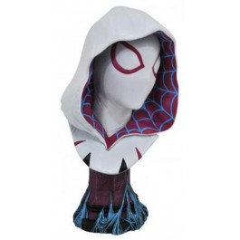 64661 - LEGENDS 3D - MARVEL - SPIDER-GWEN COMIC 1/2 BST 25CM