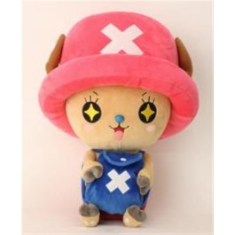 66824 - ONE PIECE - NEW CHOPPER PLUSH AMAZED - 45CM