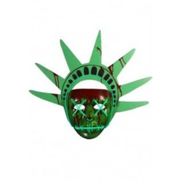 67493 - THE PURGE ELECTION YEAR - LADY LIBERTY MASK 30CM