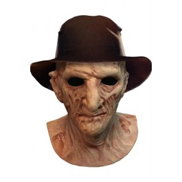 67790 - NIGHTMARE ON ELM STREET - FREDDY DLX MASK WITH HAT 30CM