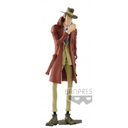 82411 - LUPIN THE THIRD PART 5 - MASTER STARS PIECE III - INSPECTOR ZENIGATA - BANPRESTO FIGURE 26CM