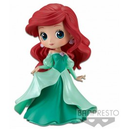 82450 - DISNEY - Q POSKET - ARIEL PRINCESS DRESS (GREEN COLOR VER.) - FIGURE 14CM