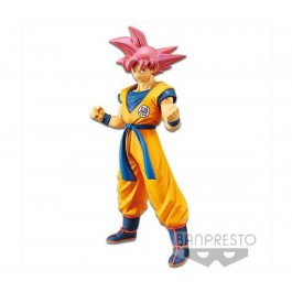 82629 - DRAGONBALL SUPER MOVIE - CYOKOKU BUYUDEN - SUPER SAIYAN GOD SON GOKU 22CM