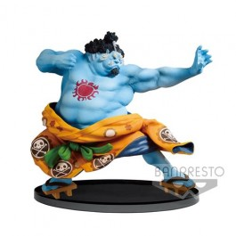 82974 - ONE PIECE - BANPRESTO WORLD FIGURE COLOSSEUM VOL.4 - JINBEI (NORMAL COLOR VERSION) 14CM