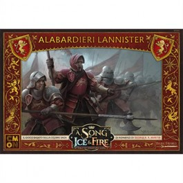 A SONG OF ICE & FIRE: MINIATURE GAME - ALABARDIERI LANNISTER