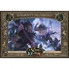A SONG OF ICE & FIRE: MINIATURE GAME - GIGANTI SELVAGGI