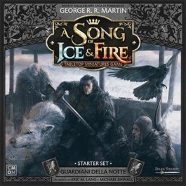 A SONG OF ICE & FIRE: MINIATURE GAME - STARTER SET GUARDIANI DELLA NOTTE