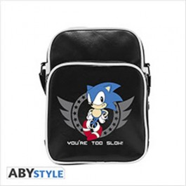 ABYBAG176 - SONIC - BORSA A TRACOLLA 'YOU'RE TOO SLOW'