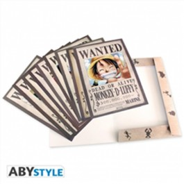 ABYDCO215 - ONE PIECE - PORTFOLIO 9 POSTER A4 WANTED