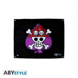 ABYDCT018 - ONE PIECE - BANDIERA FLAG ACE (50X60)