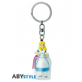 ABYKEY257 - DISNEY - PORTACHIAVI - ALICE IN THE BOTTLE