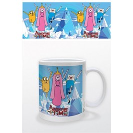 ADVENTURE TIME - TAZZA - PRINCIPESSA, FINN & JAKE