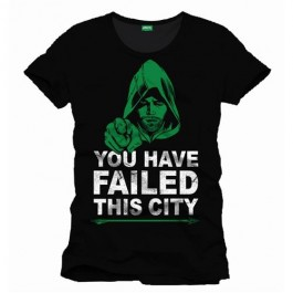 ARROW TV - TS015 - T-SHIRT YOU HAVE FAIL THIS CITY L