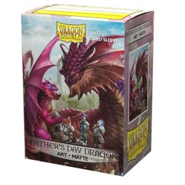 AT-12049 - 100 BUSTINE MATTE STANDARD - ART FATHER'S DAY DRAGON 2020