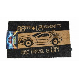 BACK TO THE FUTURE - DOORMAT - TIME MACHINE