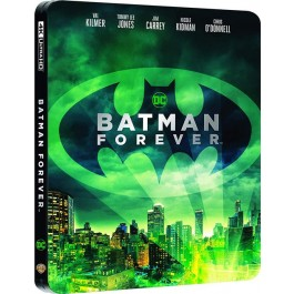 BATMAN FOREVER - STEELBOOK (4K ULTRA HD + BLU-RAY)