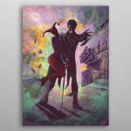 DC COMICS - 243145L - JOKER AND HARLEY CARDS