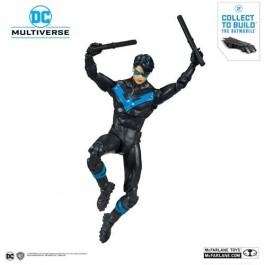DC REBIRTH - BETTER THAN BATMAN - NIGHTWING - ACTION FIGURE 18CM