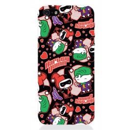 DCHIBI06 - COVER IPHONE 5 JOKER AND HARLEY'S LOVE