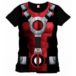 DEADPOOL - TS010 - T-SHIRT DEADPOOL COSTUME L
