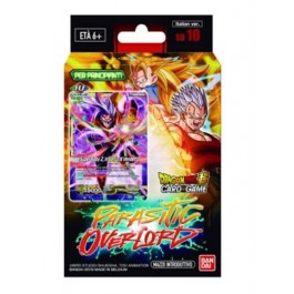 DRAGON BALL SUPER CARD GAME - STARTER DECK 10 PARASITIC OVERLORD (ITA) - DISPLAY 6 MAZZI