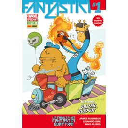 FANTASTICI QUATTRO 1 - ALL NEW MARVEL NOW - COVER ANIMAL