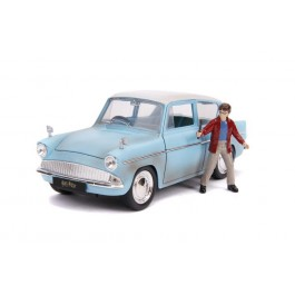 HARRY POTTER - FORD ANGLIA W/HARRY POTTER - SCALA 1:24