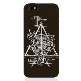 HP38 - COVER IPHONE 5 HARRY POTTER DEATHLY HALLOWS