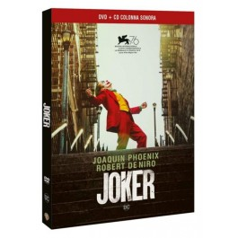 JOKER - DVD (+ CD SOUNDTRACK)
