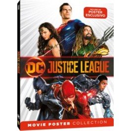 JUSTICE LEAGUE - MOVIE POSTER - DVD