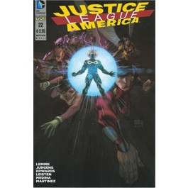 JUSTICE LEAGUE AMERICA THE NEW 52 (LION) 22
