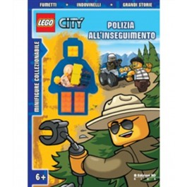 LEGO ACTIVITY - CITY - POLIZIA ALL'INSEGUIMENTO
