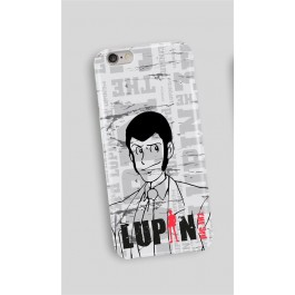 LUPIN19 - COVER I-PHONE 6 E 7 PLUS LUPIN FIGURE WHITE