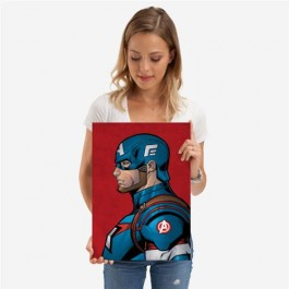 MARVEL - 123666M - CAPTAIN AMERICA