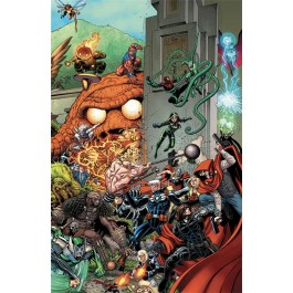 MARVEL MINISERIE 174 VARIANT - AVENGERS: STANDOFF - OMEGA: ASSALTO A PLEASANT HILL - VARIANT COMPONIBILE 2 (DI 2)