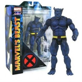 MARVEL SELECT - BEAST - ACTION FIGURES 17CM