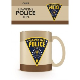 MG25283C - STRANGER THINGS - MUG - HAWKINS POLICE