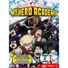 MY HERO ACADEMIA - STAG.02 BOX #01 (EPS 14-26) - DVD