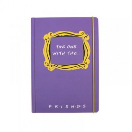 NBA5FDS01 - FRIENDS - A5 NOTEBOOK - FRIENDS (THE ONE WITH THE)
