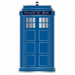 PBADDW01 - DOCTOR WHO - PIN BADGE ENAMEL - DR WHO (TARDIS)