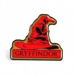 PBADHP11 - HARRY POTTER - ENAMEL BADGE (HEADER) - HARRY POTTER(GRYFFINDOR SORTING HAT)