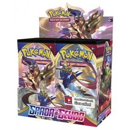 POKEMON - BOX 36 BUSTE - SPADA E SCUDO