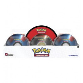 POKEMON - TIN - POKEBALL 2019 - BOX 6 PEZZI