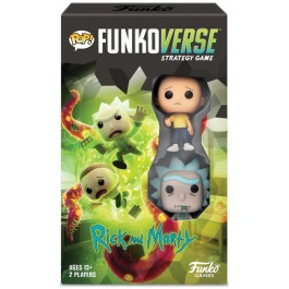 POP FUNKOVERSE - RICK AND MORTY STRATEGY GAME - EXPANDALONE - ENG