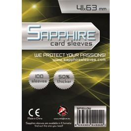 SAPPHIRE YELLOW - 100 BUSTE PROTETTIVE 41X63MM