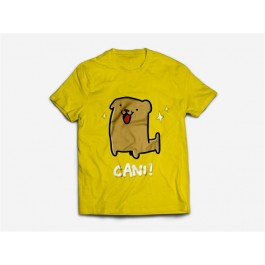 SIO01 - T-SHIRT CANI YELLOW S