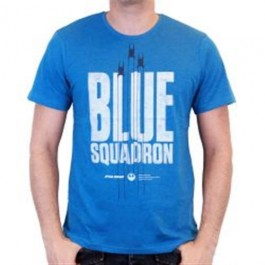 STAR WARS ROGUE ONE - TS008 - T-SHIRT BLUE SQUADRON S