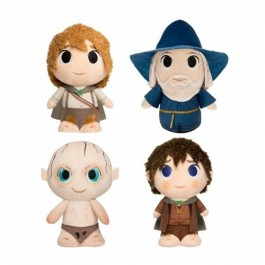 THE LORD OF THE RINGS - FUNKO SUPERCUTE PLUSH - PROTAGONISTS ASSORTMENT (6) - NEW YORK TOY FAIR