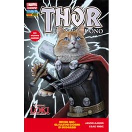 THOR IL DIO DEL TUONO 17 - ALL NEW MARVEL NOW - VARIANT COVER ANIMAL